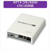 PLAT'HOME OpenBlocks IoT EX1 ACアダプタ付属 LTEモジュール(NTTドコモ/KDDI)搭載 (OBSEX1G/ACB-dLB)画像