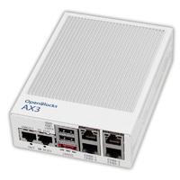 OpenBlocks AX3 イーサ4ポート DPパッケージ (Debian 7版、開発キット/HalfSlim SSD 16GB MLC 添付、Java7搭載)画像