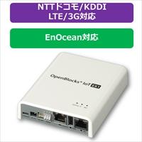 PLAT'HOME OpenBlocks IoT EX1 ACアダプタ付属 LTEモジュール(NTTドコモ/KDDI)搭載+EnOceanモジュール搭載 (OBSEX1G/ACB-dLB-EEA)画像