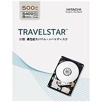 HITACHI IDK/500GB/3Gb/s SATA/5400rpm/2.5inch